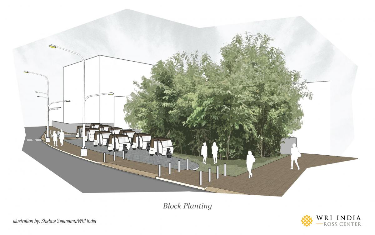 Block planting