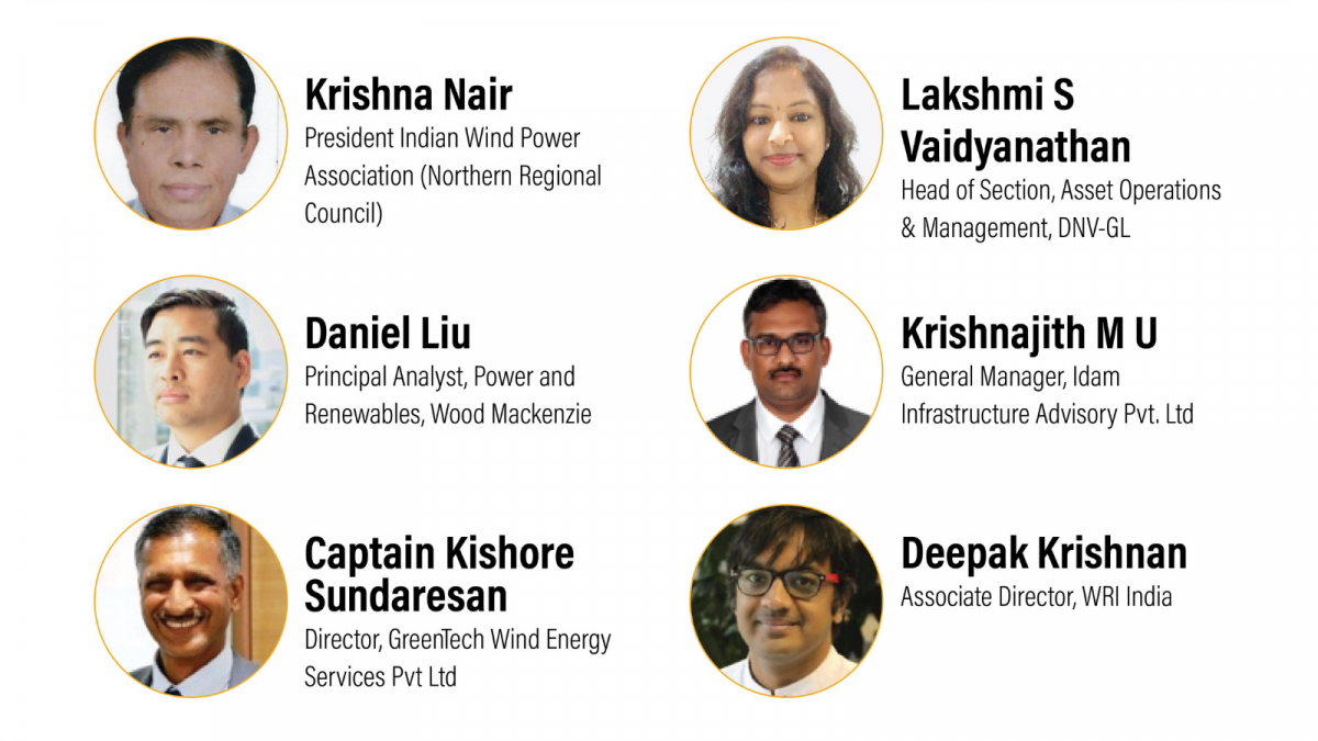 WRI India organised a webinar to understand the repowering wind potential in Tamil Nadu and discuss its associated challenges. Here are the speakers