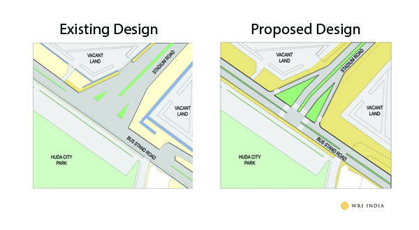 Existing Design and Proposed Design