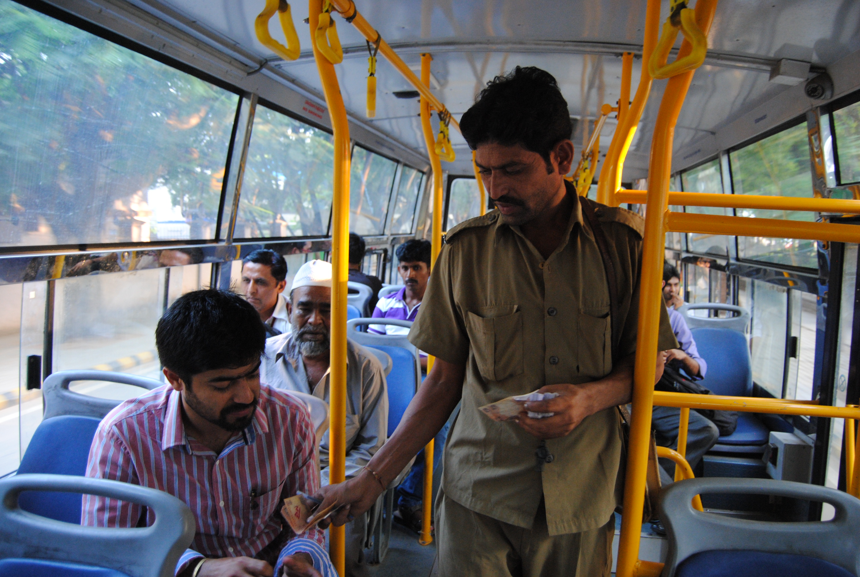 wealth of information can be obtained by understanding India's bus systems