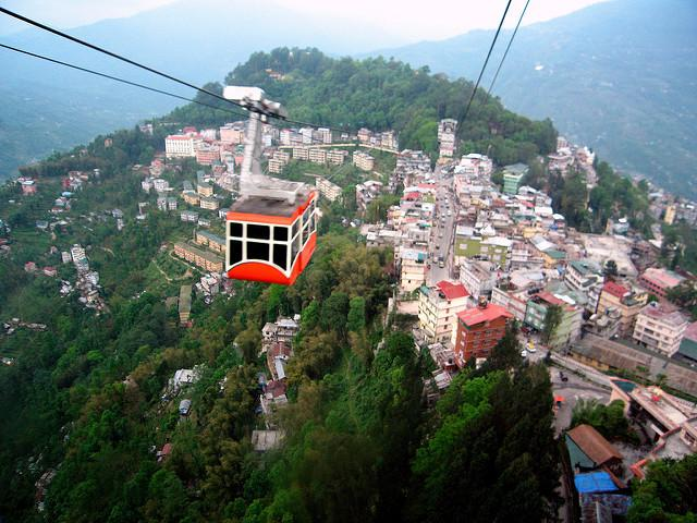 Caption: Gangtok is one of the first Indian cities to build a city-level GHG inventory. Photo: kalyan3/Flickr