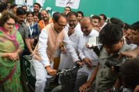 Chief Minister of Madhya Pradesh at Bhopal PBS Launch