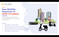 Webinar on New Mobility Responses to COVID-19 Lockdown
