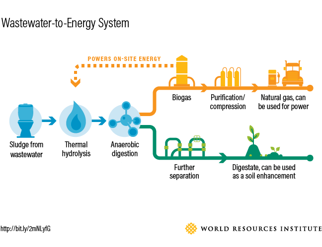 Wastewater to Energy System